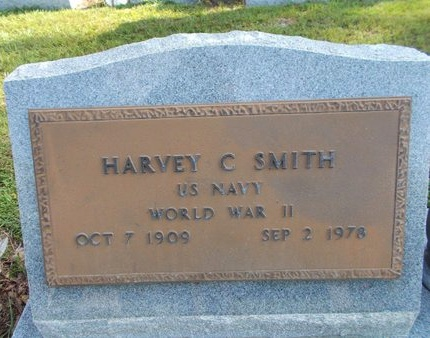 SMITH (VETERAN WWII), HARVEY C (NEW) - Hancock County, Mississippi | HARVEY C (NEW) SMITH (VETERAN WWII) - Mississippi Gravestone Photos