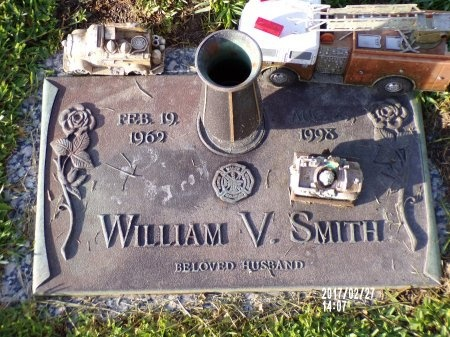 SMITH, WILLIAM V - Hancock County, Mississippi | WILLIAM V SMITH - Mississippi Gravestone Photos