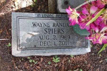 SPIERS, WAYNE RANDALL - Hancock County, Mississippi | WAYNE RANDALL SPIERS - Mississippi Gravestone Photos