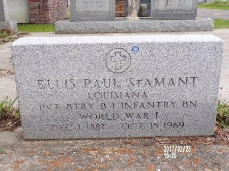 ST. AMANT (VETERAN WWI), ELLIS PAUL (NEW) - Hancock County, Mississippi | ELLIS PAUL (NEW) ST. AMANT (VETERAN WWI) - Mississippi Gravestone Photos
