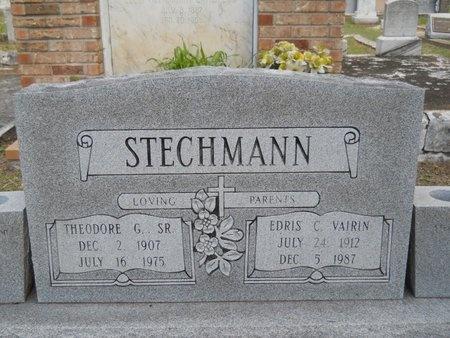 STECHMANN, THEODORE G., SR - Hancock County, Mississippi | THEODORE G., SR STECHMANN - Mississippi Gravestone Photos