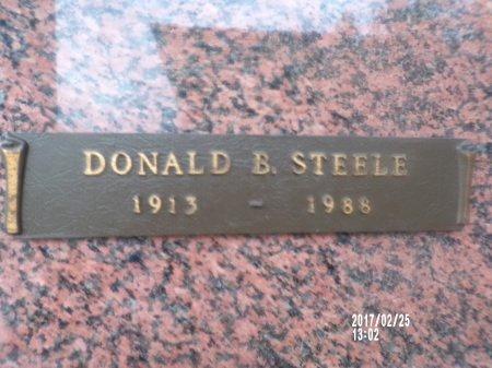 STEELE, DONALD B - Hancock County, Mississippi | DONALD B STEELE - Mississippi Gravestone Photos
