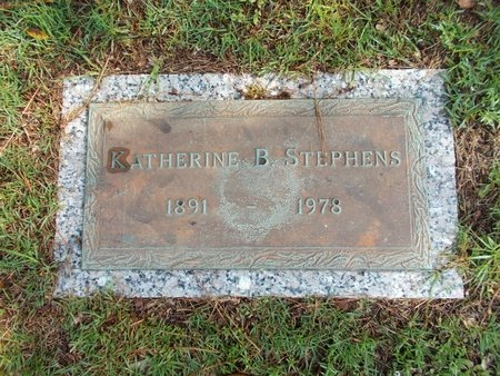 STEPHENS, KATHERINE B - Hancock County, Mississippi | KATHERINE B STEPHENS - Mississippi Gravestone Photos