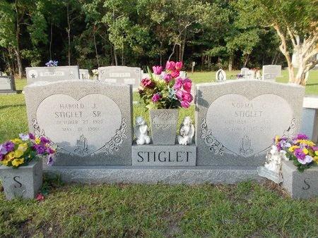COLLIER STIGLET, NORMA - Hancock County, Mississippi | NORMA COLLIER STIGLET - Mississippi Gravestone Photos