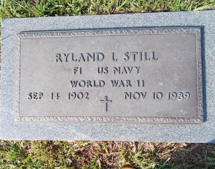 STILL (VETERAN WWII), RYLAND L (NEW) - Hancock County, Mississippi | RYLAND L (NEW) STILL (VETERAN WWII) - Mississippi Gravestone Photos