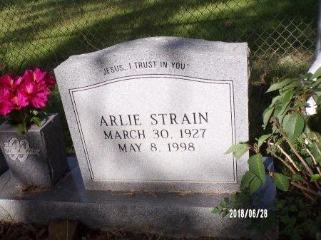 STRAIN, ARLIE - Hancock County, Mississippi | ARLIE STRAIN - Mississippi Gravestone Photos