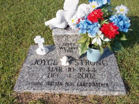 STRONG, JOYCE - Hancock County, Mississippi | JOYCE STRONG - Mississippi Gravestone Photos