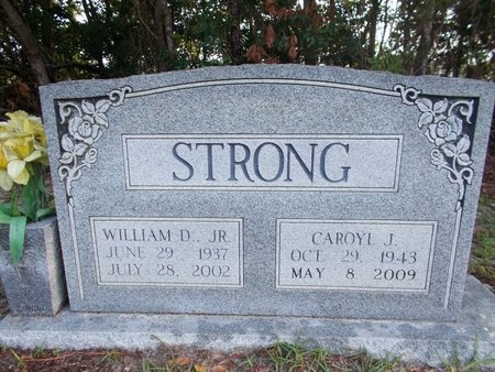 STRONG, WILLIAM D., JR - Hancock County, Mississippi | WILLIAM D., JR STRONG - Mississippi Gravestone Photos