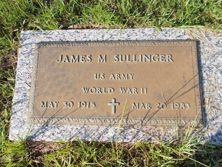SULLINGER (VETERAN WWII), JAMES M (NEW) - Hancock County, Mississippi | JAMES M (NEW) SULLINGER (VETERAN WWII) - Mississippi Gravestone Photos