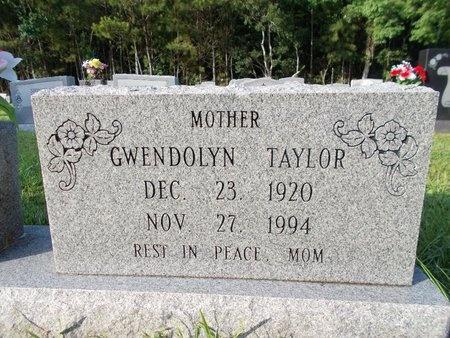 TAYLOR, GWENDOLYN - Hancock County, Mississippi | GWENDOLYN TAYLOR - Mississippi Gravestone Photos