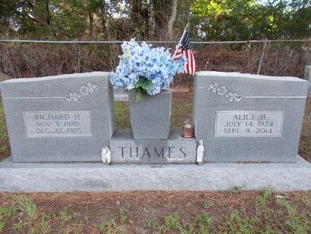 THAMES, RICHARD H - Hancock County, Mississippi | RICHARD H THAMES - Mississippi Gravestone Photos