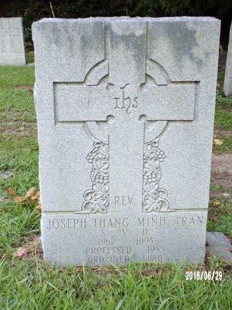 THANG MINH TRAN, REV, JOSEPH - Hancock County, Mississippi | JOSEPH THANG MINH TRAN, REV - Mississippi Gravestone Photos