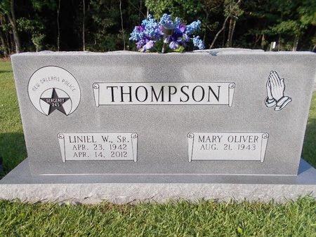 THOMPSON, LINIEL W., SR - Hancock County, Mississippi | LINIEL W., SR THOMPSON - Mississippi Gravestone Photos