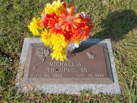 THOMPSON, MICHAEL A., SR - Hancock County, Mississippi | MICHAEL A., SR THOMPSON - Mississippi Gravestone Photos