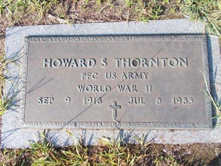 THORNTON (VETERAN WWII), HOWARD S (NEW) - Hancock County, Mississippi | HOWARD S (NEW) THORNTON (VETERAN WWII) - Mississippi Gravestone Photos