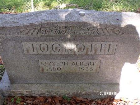 TOGNOTTI, JOSEPH ALBERT - Hancock County, Mississippi | JOSEPH ALBERT TOGNOTTI - Mississippi Gravestone Photos