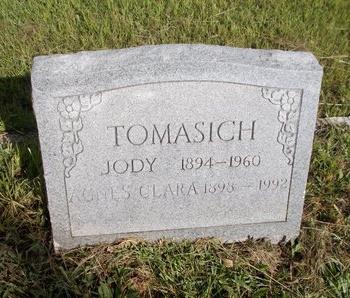 TOMASICH, AGNES CLARA - Hancock County, Mississippi | AGNES CLARA TOMASICH - Mississippi Gravestone Photos