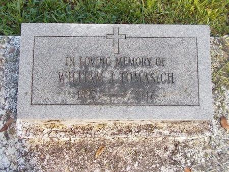 TOMASICH, WILLIAM J - Hancock County, Mississippi | WILLIAM J TOMASICH - Mississippi Gravestone Photos