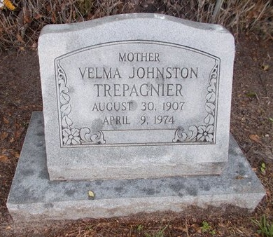 TREPAGNIER, VELMA - Hancock County, Mississippi | VELMA TREPAGNIER - Mississippi Gravestone Photos