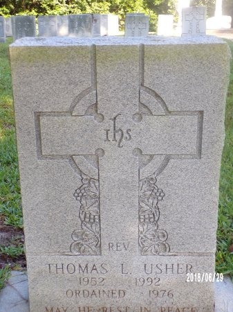 USHER, REV, THOMAS L - Hancock County, Mississippi | THOMAS L USHER, REV - Mississippi Gravestone Photos