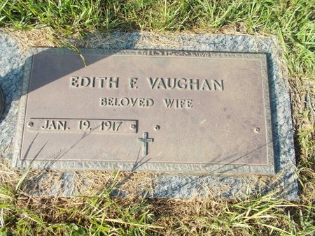 VAUGHAN, EDITH F - Hancock County, Mississippi | EDITH F VAUGHAN - Mississippi Gravestone Photos