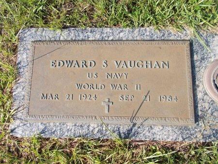 VAUGHAN (VETERAN WWII), EDWARD S (NEW) - Hancock County, Mississippi | EDWARD S (NEW) VAUGHAN (VETERAN WWII) - Mississippi Gravestone Photos