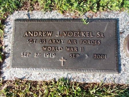 VOELKEL (VETERAN WWII), ANDREW J., SR (NEW) - Hancock County, Mississippi | ANDREW J., SR (NEW) VOELKEL (VETERAN WWII) - Mississippi Gravestone Photos