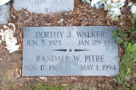 WALKER, DORTHY J - Hancock County, Mississippi | DORTHY J WALKER - Mississippi Gravestone Photos