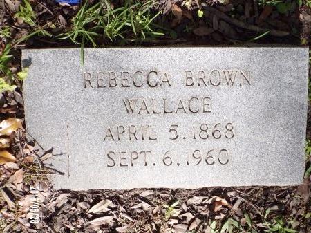 WALLACE, REBECCA - Hancock County, Mississippi | REBECCA WALLACE - Mississippi Gravestone Photos