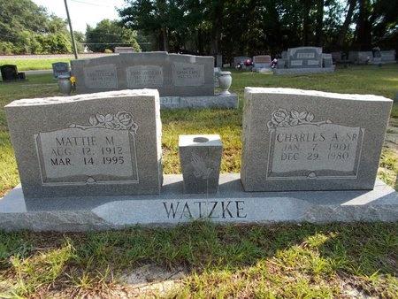 WATZKE, MATTIE M - Hancock County, Mississippi | MATTIE M WATZKE - Mississippi Gravestone Photos