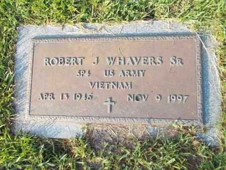 WHAVERS (VETERAN VIET), ROBERT J (NEW) - Hancock County, Mississippi   ROBERT J (NEW) WHAVERS (VETERAN VIET) - Mississippi Gravestone Photos