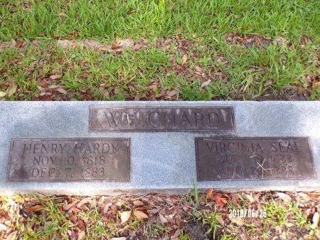 SEAL WHICHARD, VIRGINIA - Hancock County, Mississippi | VIRGINIA SEAL WHICHARD - Mississippi Gravestone Photos