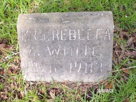 WHITE, REBECCA A - Hancock County, Mississippi | REBECCA A WHITE - Mississippi Gravestone Photos