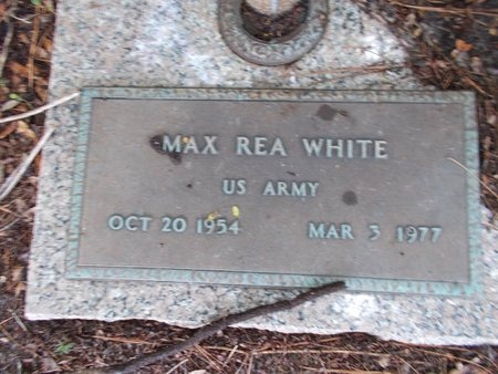 WHITE (VETERAN), MAX REA (NEW) - Hancock County, Mississippi | MAX REA (NEW) WHITE (VETERAN) - Mississippi Gravestone Photos