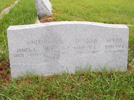 MOORE, EVELYN I - Hancock County, Mississippi | EVELYN I MOORE - Mississippi Gravestone Photos