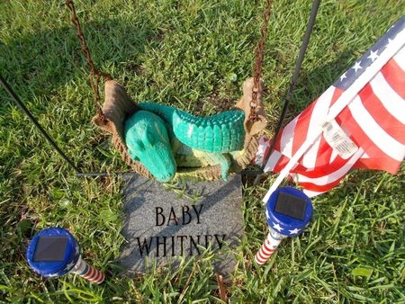 WHITNEY, BABY - Hancock County, Mississippi | BABY WHITNEY - Mississippi Gravestone Photos