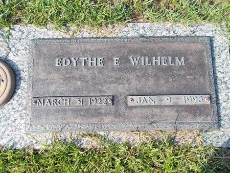 WILHELM, EDYTHE E - Hancock County, Mississippi | EDYTHE E WILHELM - Mississippi Gravestone Photos