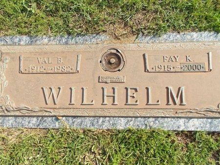 WILHELM, VAL B - Hancock County, Mississippi | VAL B WILHELM - Mississippi Gravestone Photos