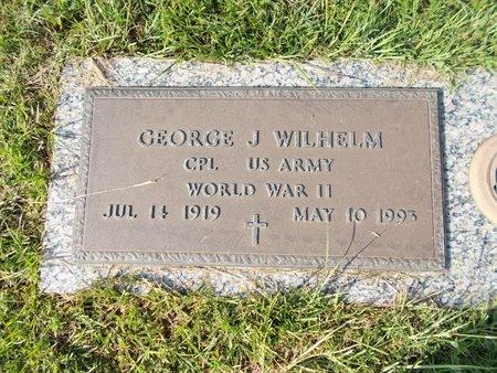 WILHELM (VETERAN WWII), GEORGE J (NEW) - Hancock County, Mississippi | GEORGE J (NEW) WILHELM (VETERAN WWII) - Mississippi Gravestone Photos