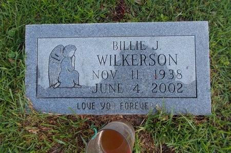 WILKERSON, BILLIE J - Hancock County, Mississippi | BILLIE J WILKERSON - Mississippi Gravestone Photos