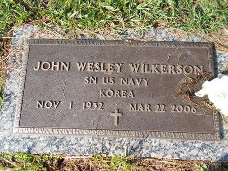 WILKERSON (VETERAN KOR), JOHN WESLEY (NEW) - Hancock County, Mississippi | JOHN WESLEY (NEW) WILKERSON (VETERAN KOR) - Mississippi Gravestone Photos