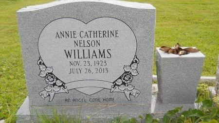 WILLIAMS, ANNIE CATHERINE - Hancock County, Mississippi   ANNIE CATHERINE WILLIAMS - Mississippi Gravestone Photos