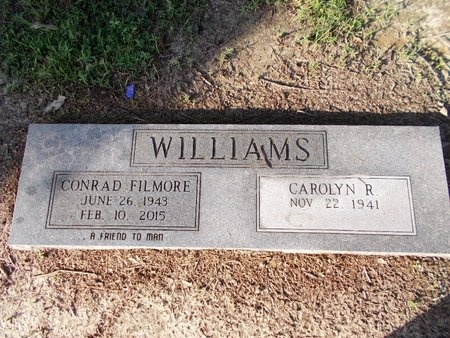 WILLIAMS, CONRAD FILMORE - Hancock County, Mississippi | CONRAD FILMORE WILLIAMS - Mississippi Gravestone Photos