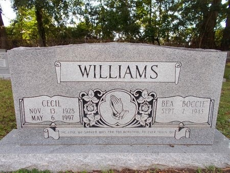 WILLIAMS, CECIL - Hancock County, Mississippi | CECIL WILLIAMS - Mississippi Gravestone Photos