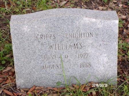 WILLIAMS, CRIPPS KNIGHTON - Hancock County, Mississippi   CRIPPS KNIGHTON WILLIAMS - Mississippi Gravestone Photos