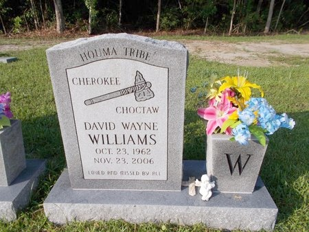 WILLIAMS, DAVID WAYNE - Hancock County, Mississippi | DAVID WAYNE WILLIAMS - Mississippi Gravestone Photos