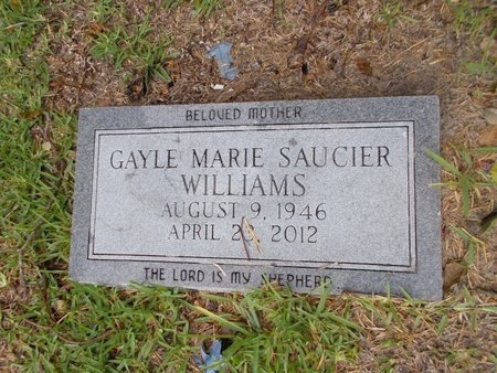 WILLIAMS, GAYLE MARIE - Hancock County, Mississippi | GAYLE MARIE WILLIAMS - Mississippi Gravestone Photos