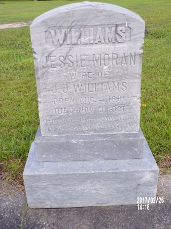 WILLIAMS, JESSIE - Hancock County, Mississippi | JESSIE WILLIAMS - Mississippi Gravestone Photos