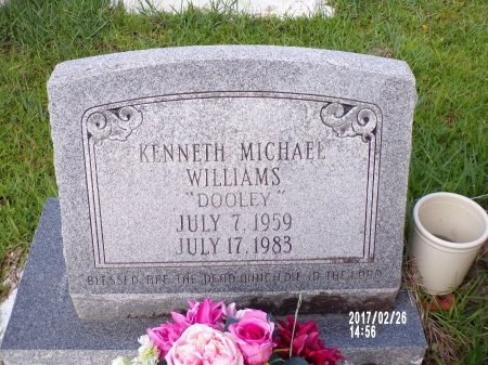 "WILLIAMS, KENNETH MICHAEL ""DOOLEY"" - Hancock County, Mississippi | KENNETH MICHAEL ""DOOLEY"" WILLIAMS - Mississippi Gravestone Photos"