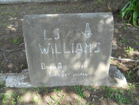 WILLIAMS, LAWRENCE S - Hancock County, Mississippi | LAWRENCE S WILLIAMS - Mississippi Gravestone Photos
